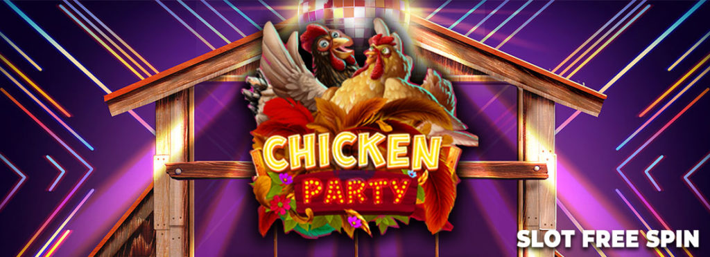 Chicken Party Free Slot Banner Canada