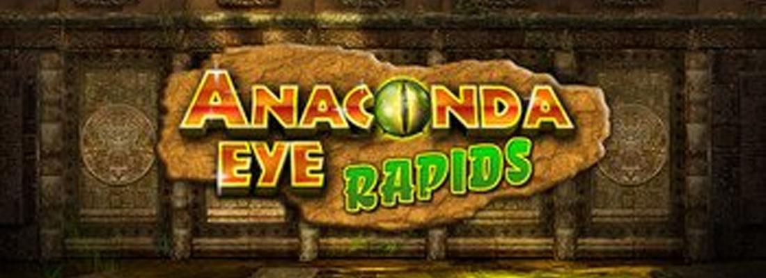 Anaconda Eye Rapids Slot Banner