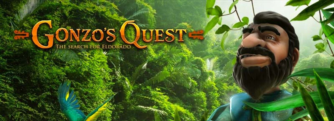 Gonzo's Quest Slot Banner Canada