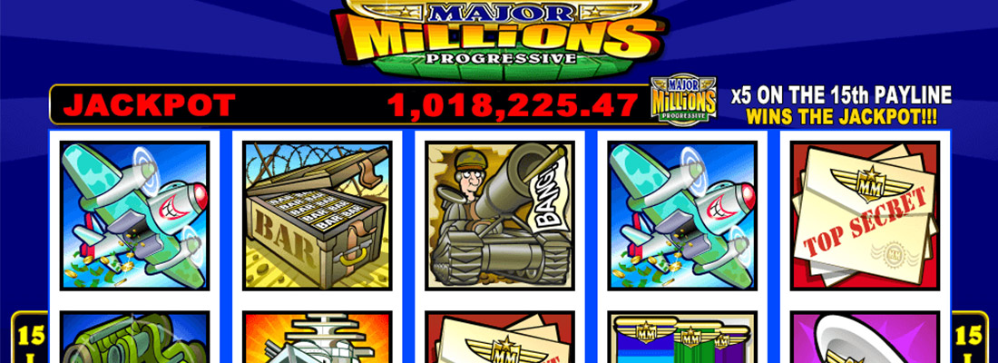 major-millions-slot-game-banner Canada