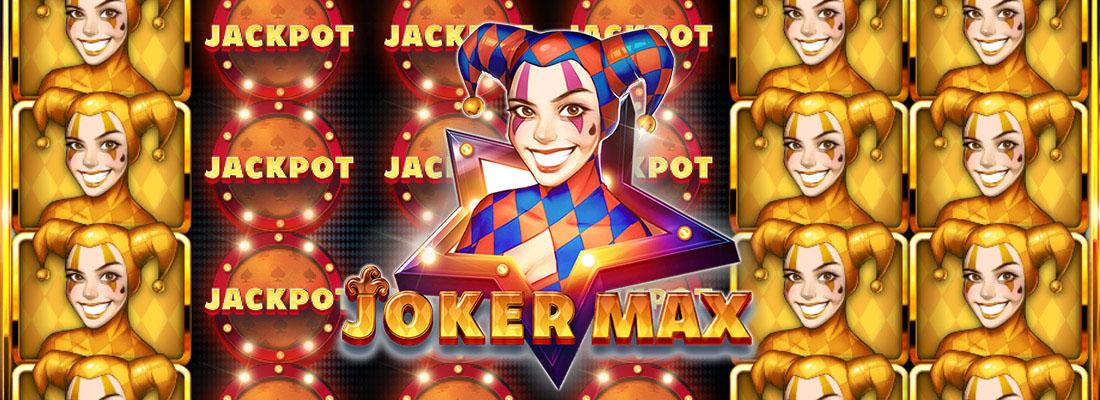 Joker Max Slot Banner
